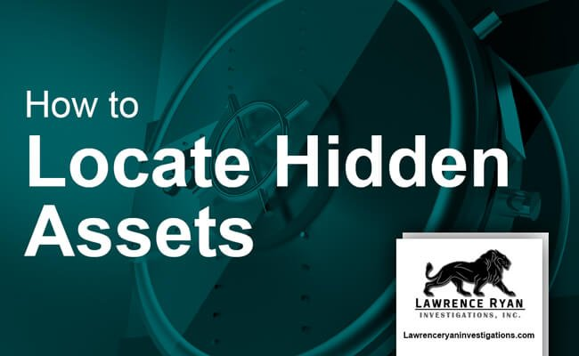 how to locate hidden assets
