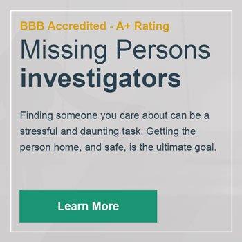 Missing Persons Investigator