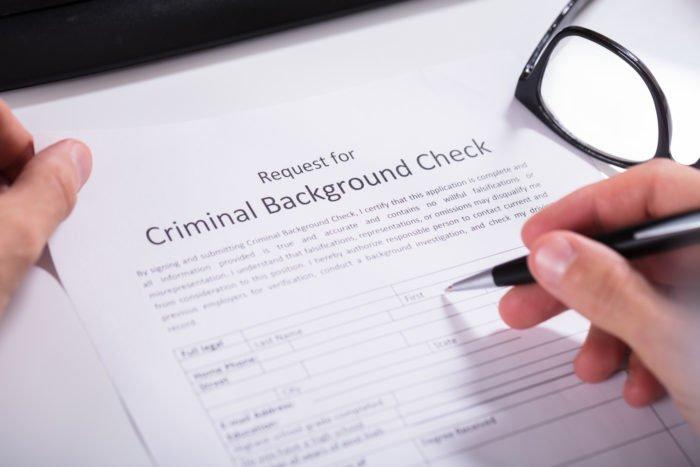 Run a backgroung check