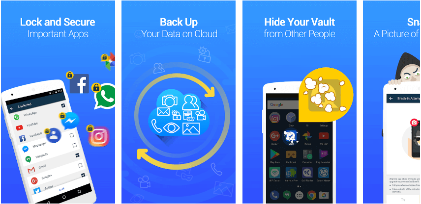 Android App for Hiding Hidden Apps