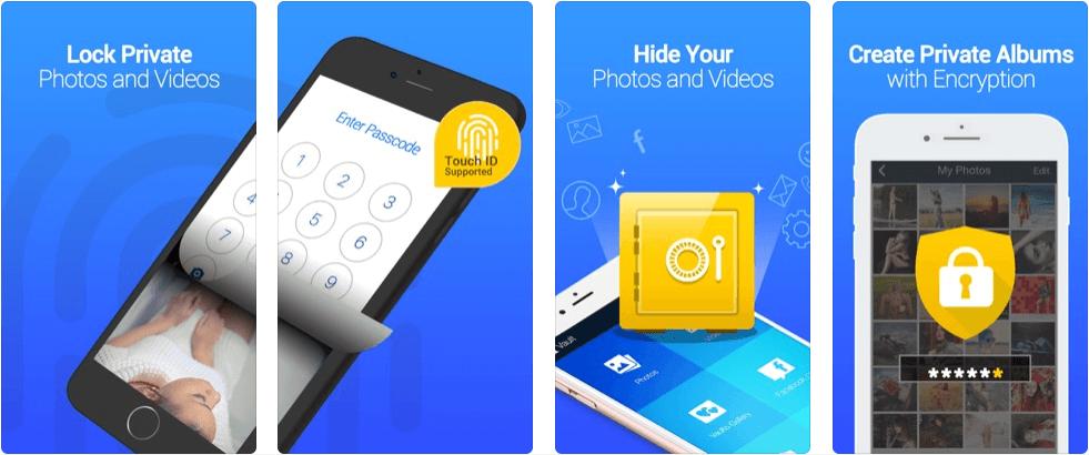 Vault App for Hiding Content on Smartphone